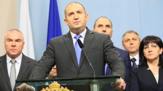 Румен Радев настоя за интеграция на родната отбрана в европейската