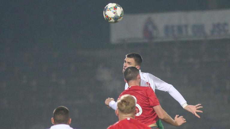 Централният нападател на младежкия национален отбор Калоян Кръстев бе много