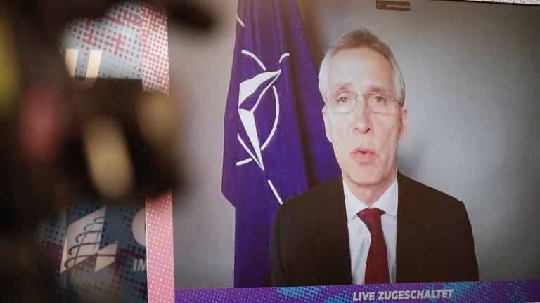 Столтенберг иска глобален подход от НАТО и не определя Китай за противник