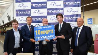 Летище Бургас привлече нова авиокомпания, 10 дестинации и 200 работни места