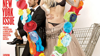 Лейди Гага и Марк Джейкобс на корицата на V Magazine