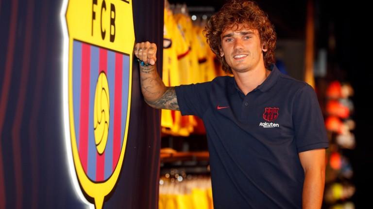 Новото попълнение на Барселона Антоан Гризман пристигна в каталунската столица