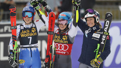 Петра Влъхова и Микаела Шифрин са победителките в гигантския слалом в Марибор