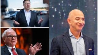 Най-богатите в САЩ - Безос, Мъск, Бъфет - плащат скромни данъци, понякога никакви