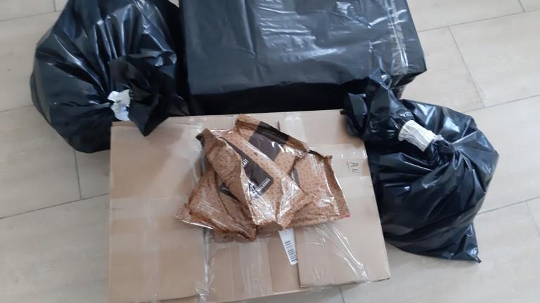 Митничари са намерили 39 пакета от 1 кг. тютюн за