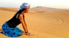 Ани Хоанг и Люси Иларионов бяха в Дубай пак (СНИМКИ)