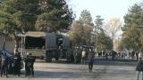 Армията влезе в бежанския център в Харманли