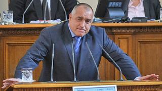 """Борисов се разсърди, че участва в """"театъра"""" в парламента"""