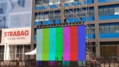 """Видеостената пред Сектор """"А"""" вече е готова - очаква хиляди левскари"""