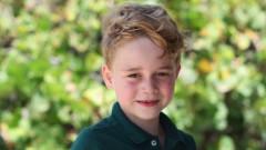Принц Джордж на шест години