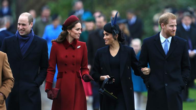 Уилям и Кейт откраднаха тайното оръжие на Хари и Меган
