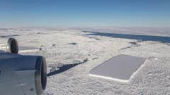 Айсберг с удивителна форма се откъсна от Антарктида