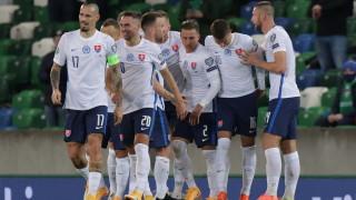 Един гол направи разликата между празнуващите словаци и шотландци