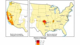 САЩ вече отчитат и предизвиканите от човека земетресения