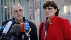 Германската коалиция призова за нови избори в Тюрингия