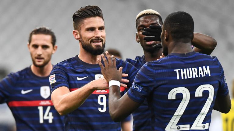Франция е отборът, който има най-много победи на европейски първенства