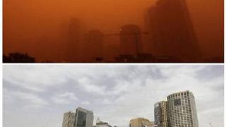 Прашната буря над Сидни радиоактивна?