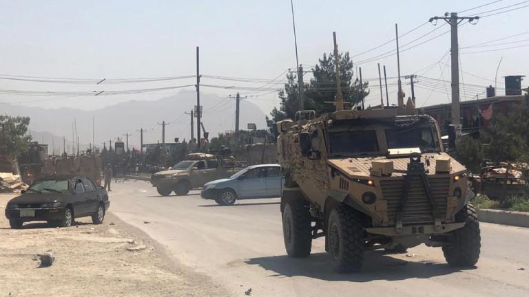 Кола бомба удари конвой на САЩ в Кабул, няколко жертви