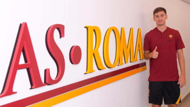 Ръководството на Рома официализира привличането на 20-годишния албански национал Мараш