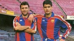 Барселона също поздрави Христо Стоичков