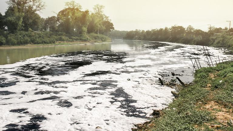 Съмнения за замърсяване на река Бистрица в Кюстендилско
