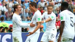 """Франция е на полуфинал! """"Петлите"""" сложиха край на мечтите на Уругвай за световна титла!"""