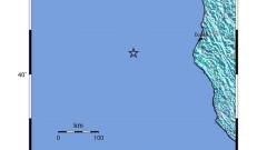 Мощен трус край бреговете на Калифорния