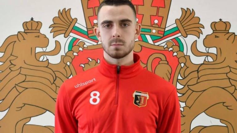 Александър Иванов официално е футболист на Локомотив (Пд)