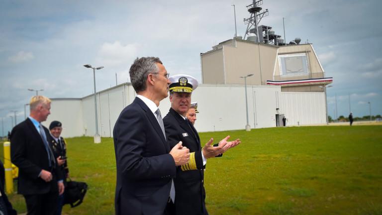 НАТО разполага временно ПВО THAAD в Румъния