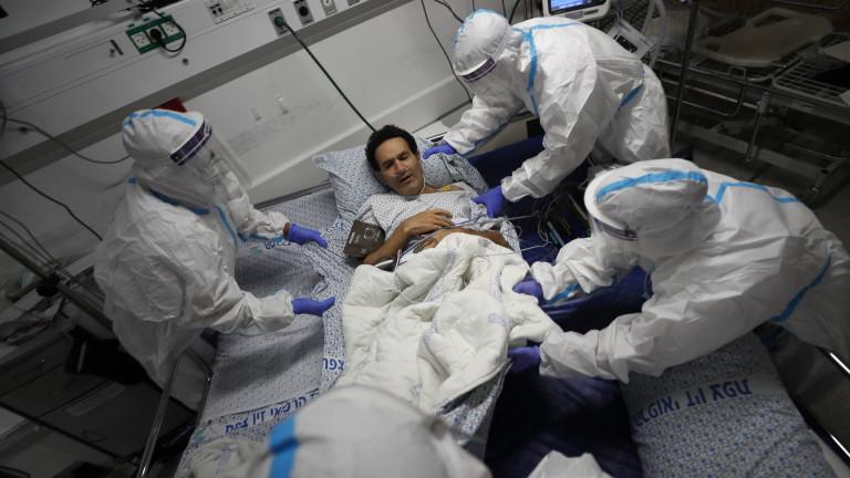 Израел е регистрирал най-големия брой заразени за 24-часов период от