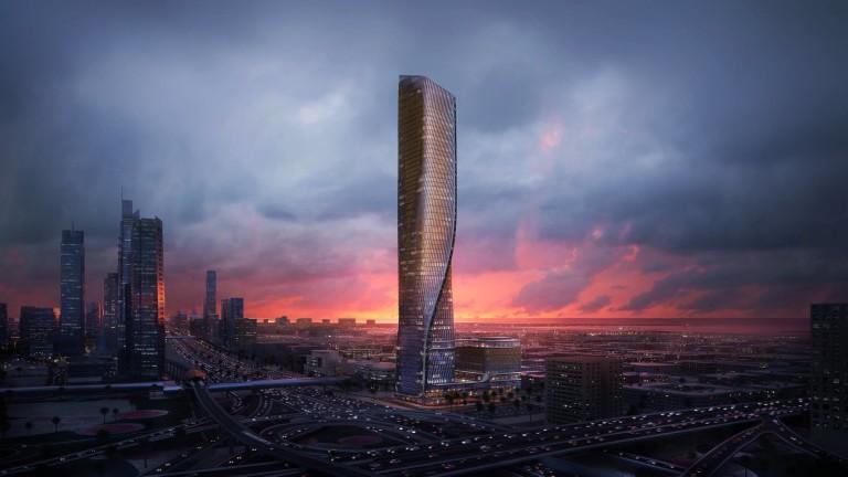 Wasl Tower: небостъргачът с керамична фасада, който ще засенчи Burj Khalifa