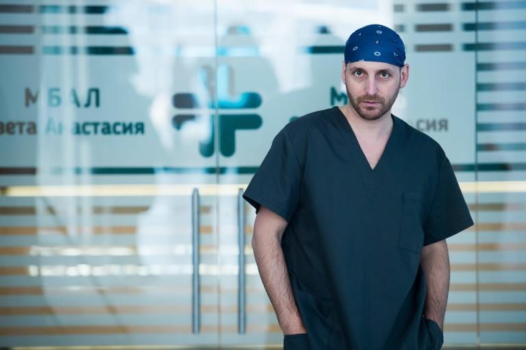 Иван Юруков в ролята на Деян Табаков
