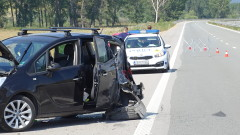 Трима пострадаха при катастрофа в Русенско