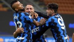 Луда победа за Интер след паметен обрат в края срещу Фиорентина