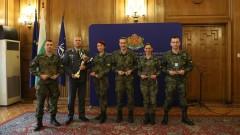 Министерство на отбраната награди 10-те най-добри военни спортисти