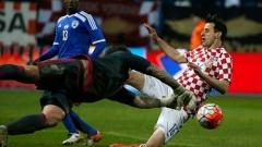 Двама от Интер носят победа на Хърватия (ВИДЕО)