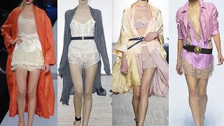 Тенденциите за 2008 повеляват бельото да е отвън