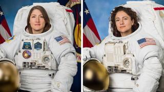 За първи път в историята изцяло дамски екип ремонтира космическата станция