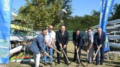 Томас Бах направи символична първа копка за втория гребен канал в Пловдив