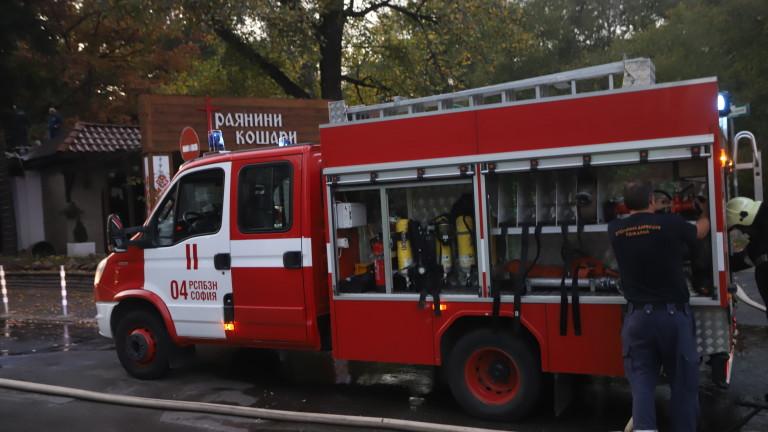 """Мъж пострада при пожар в столичния квартал """"Надежда"""""""