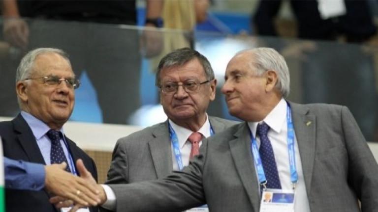 Президентът на световната волейболна федерация ФИВБ, бразилецът Ари де Граса
