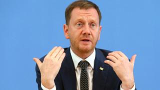 Саксония въвежда строга блокада