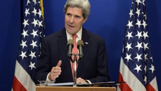 Риск от конфронтация между руските сили и коалицията в Сирия вижда Кери