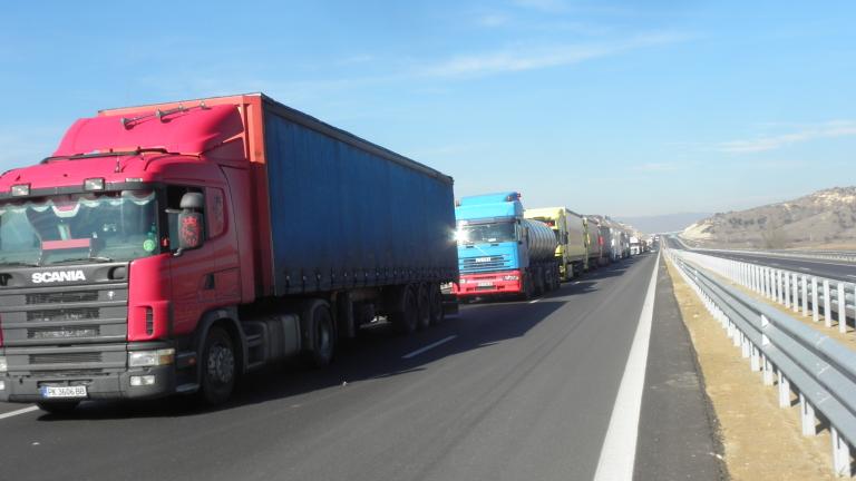 Камионите могат да плащат предварително тол такса за заявен маршрут
