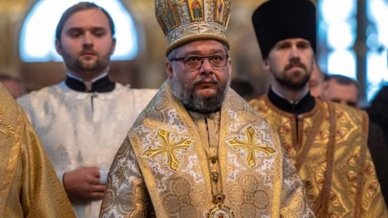Старозагорският митрополит Киприан служи в прочутата Киево-Печорска лавра