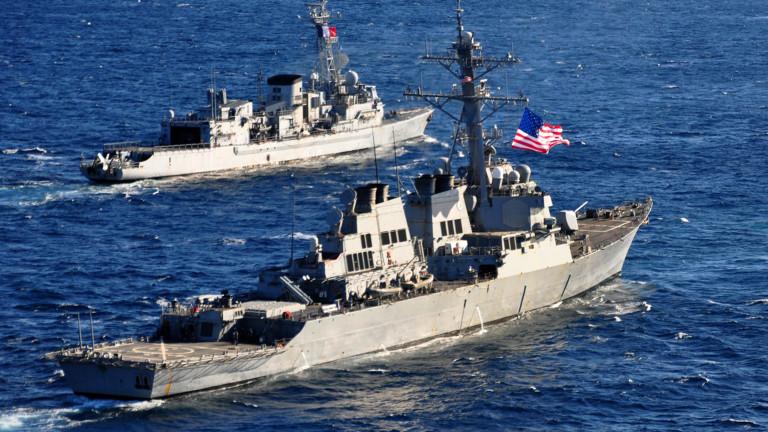 Четири кораба на НАТО в Балтийско море притесниха Русия