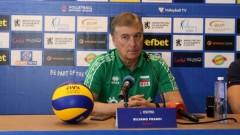 Силвано Пранди: Искам нашият отбор да повиши нивото си на игра в Пловдив