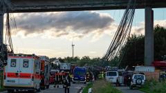 В Бавария рухна строящ се мост, един човек загина