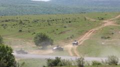 """150 US морски пехотинци стрелят заедно с наши на """"Ново село"""""""