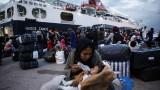 Селяни в Гърция замерят с камъни автобуси с мигранти